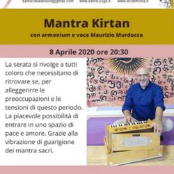 Mantra Kirtan con armonium e voce Maurizio Murdocca a Montichiari