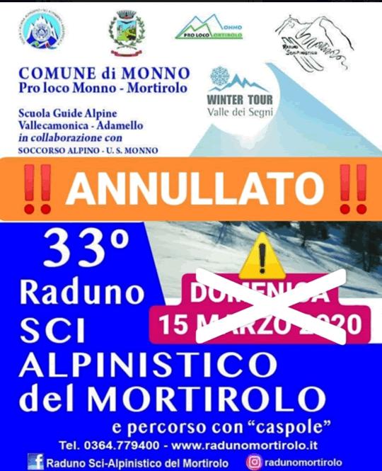 Raduno Sci-Alpinistico del Mortirolo a Monno