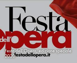 Festa dell'Opera 2020 Edizione speciale