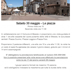 Visita guidata a Brescia