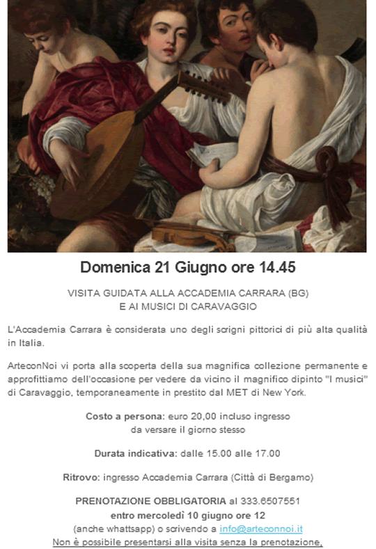Visita guidata all'Accademia Carrara BG