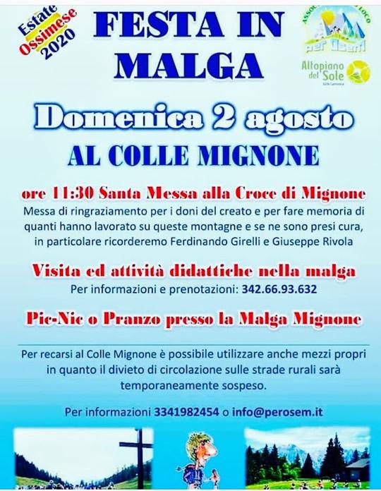 festival in malga