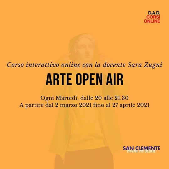 arte open air con Sara Zugni