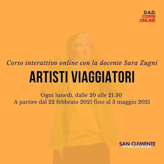 artisti viaggiatori con Sara Zugni