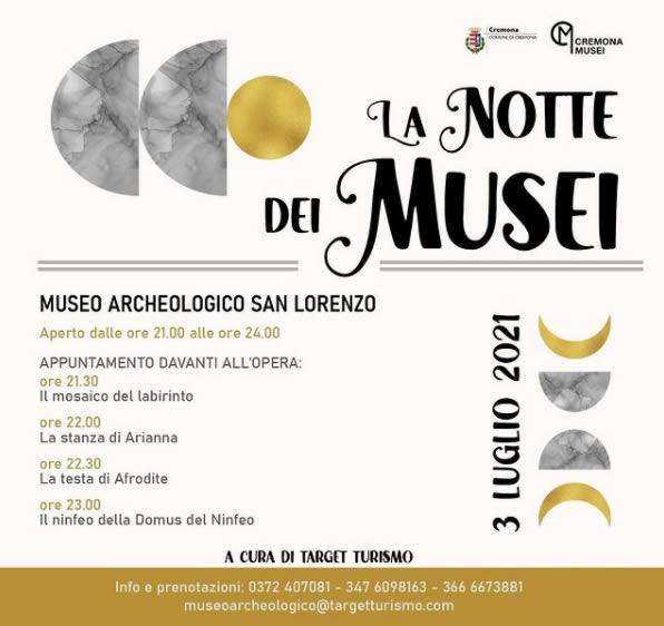 notte al museo Cremona