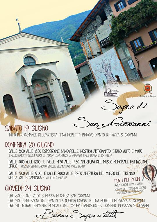 sagra di San Giovanni a Edolo