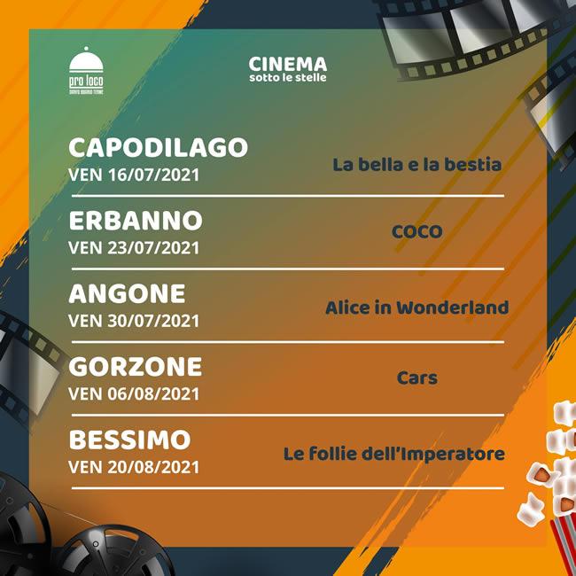 Darfo boario cinema sotto le stelle