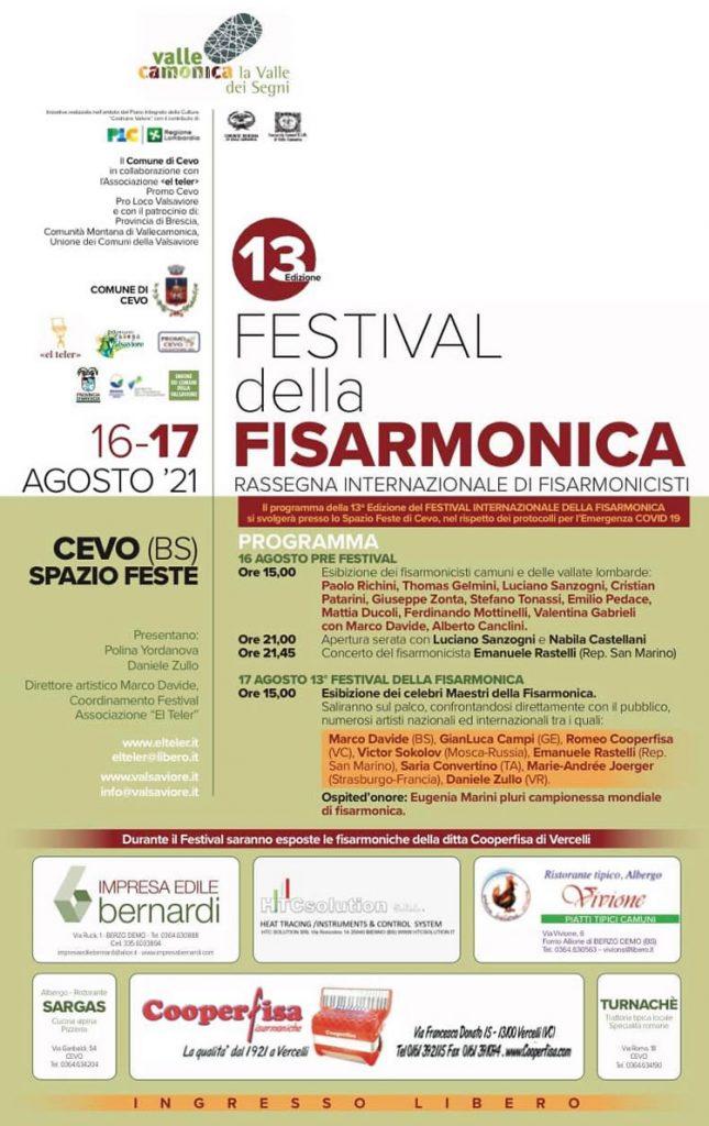 festival della fisarmonica in Val Saviore