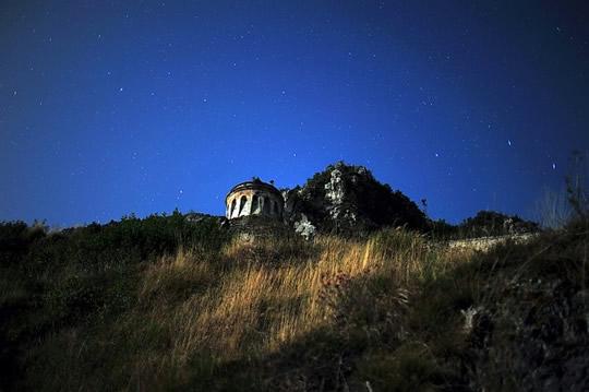 rocca anfo notte