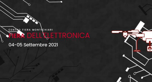 Locandina Fiera dell'elettronica a Montichiari