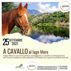 A Cavallo al lago Moro