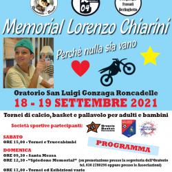 Memorial Lorenzo Chiarini