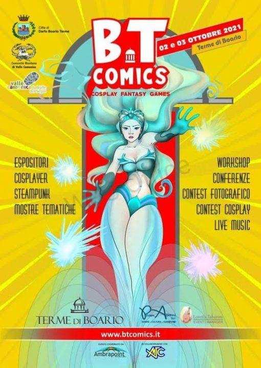 Locandina BT Comics a Darfo