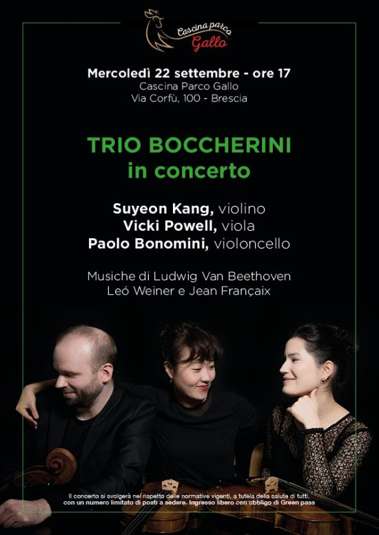 Trio Boccherini in concerto