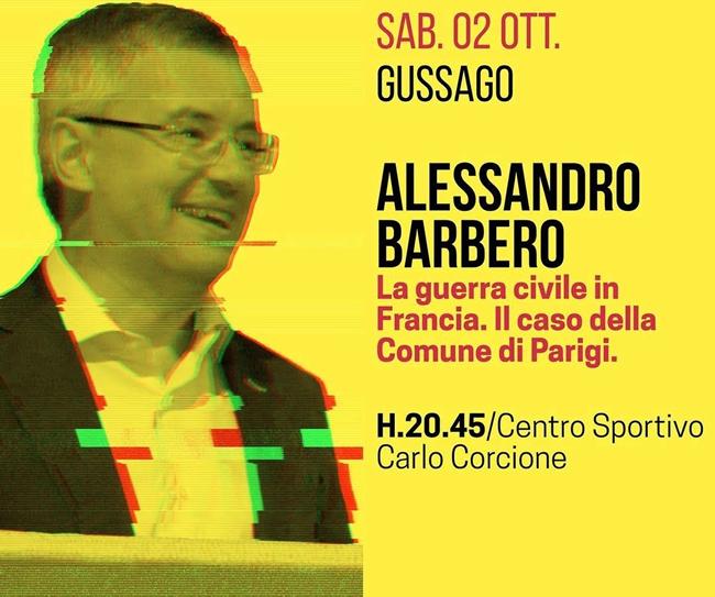 Alessandro barbero a Gussago