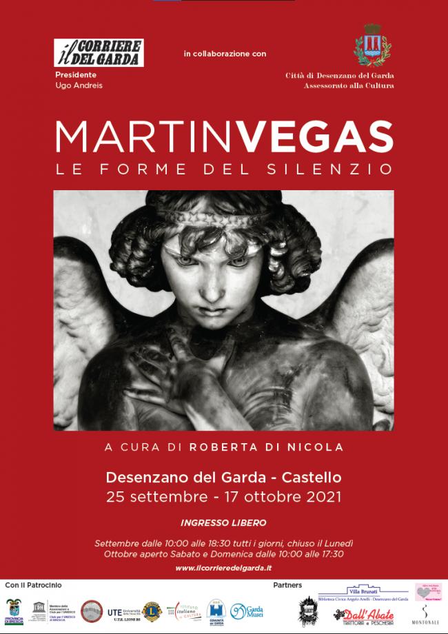 Locandina mostra fotografica Martin Vegas