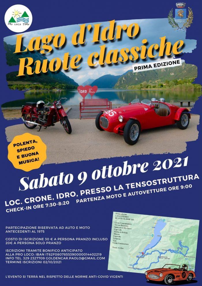Lago d'Idro - ruote classiche