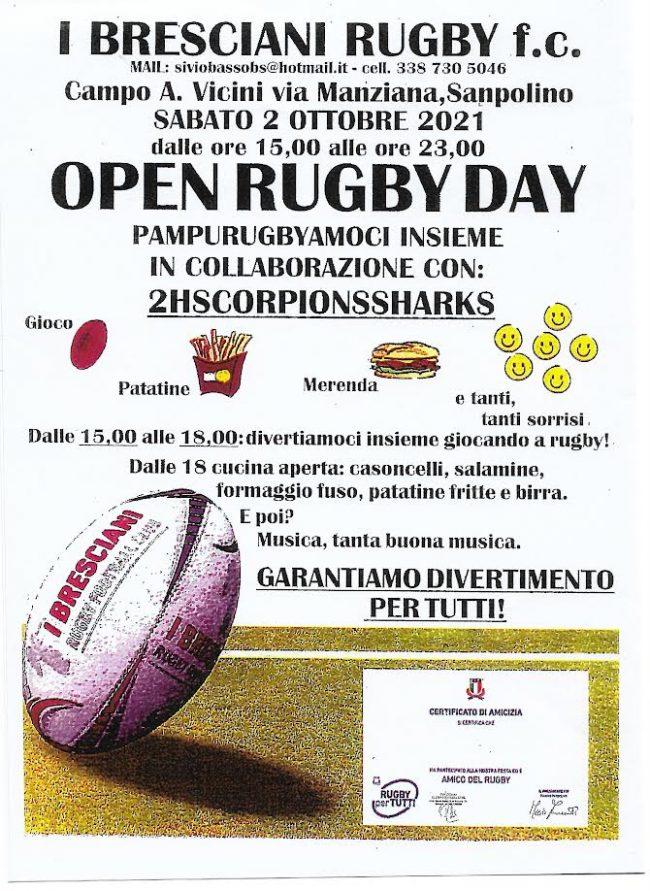 Bresciani Rugby Open Day