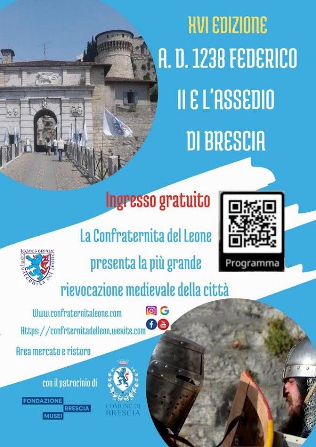 Locandina AD 1238 Federico II e l'Assedio di Brescia