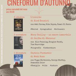 Cineforum d'autunno a Pozzlengo